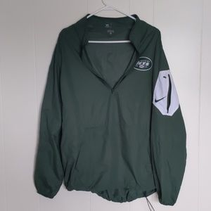 Nikes New York Jets Zippered Pullover XL